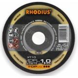 Rhodius XT10 pjovimo diskas metalui ø 1,0–2,0 mm |