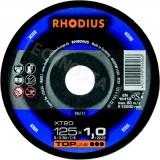 Rhodius XT20 pjovimo diskas metalui ø 1,0–1,9 mm |